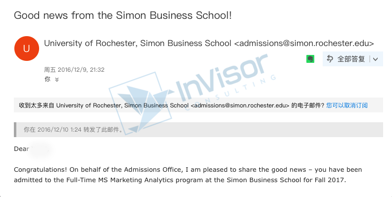 Business-Analytics-Rochester罗切斯特大学西蒙商学院